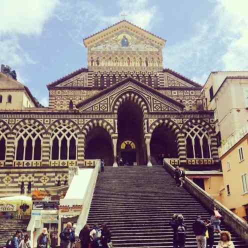 Steps of Amalfi Cathedral