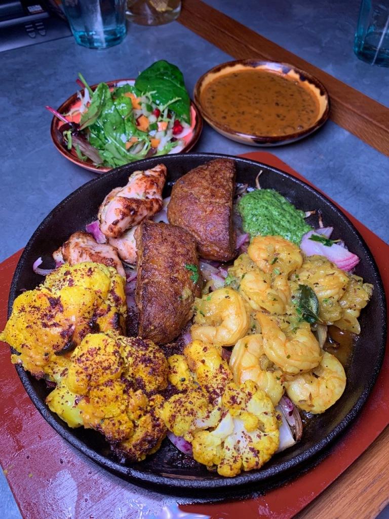Cinnamon Bazaar - mixed grill main