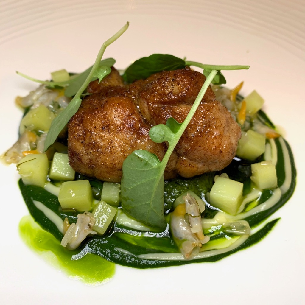 veal sweetbreads - The Restaurant at The Capital