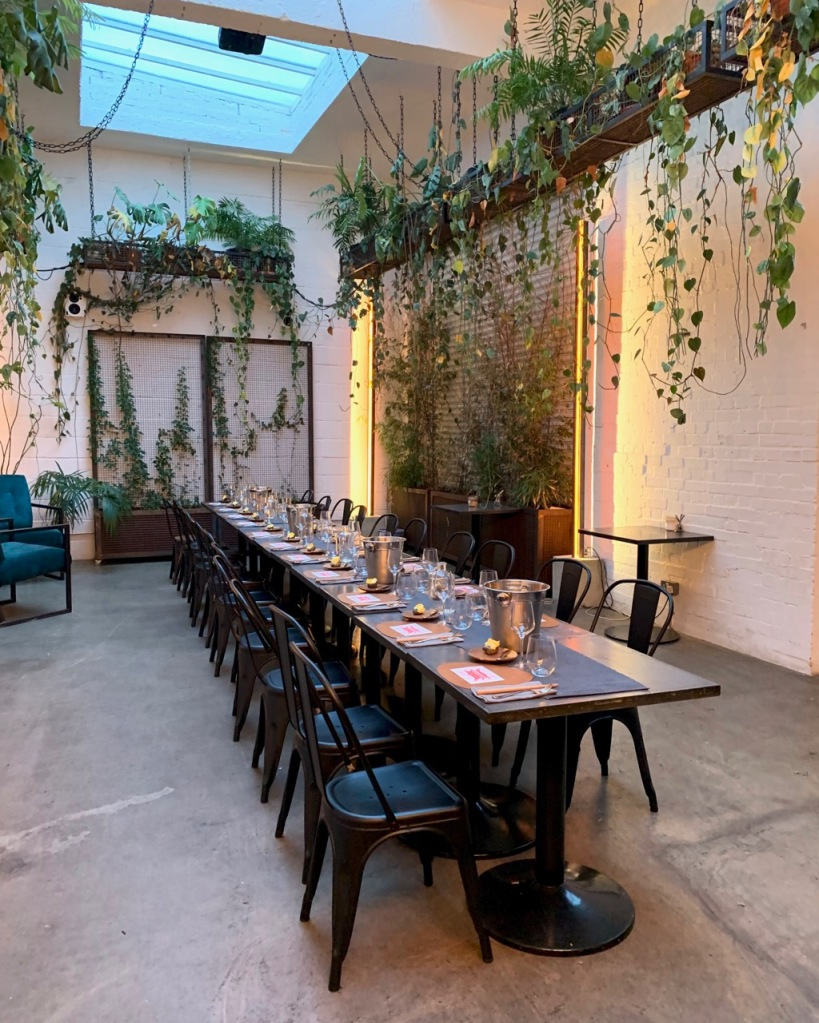 Eleven98 supperclub Hackney - interiors of Hackney Coffee Co