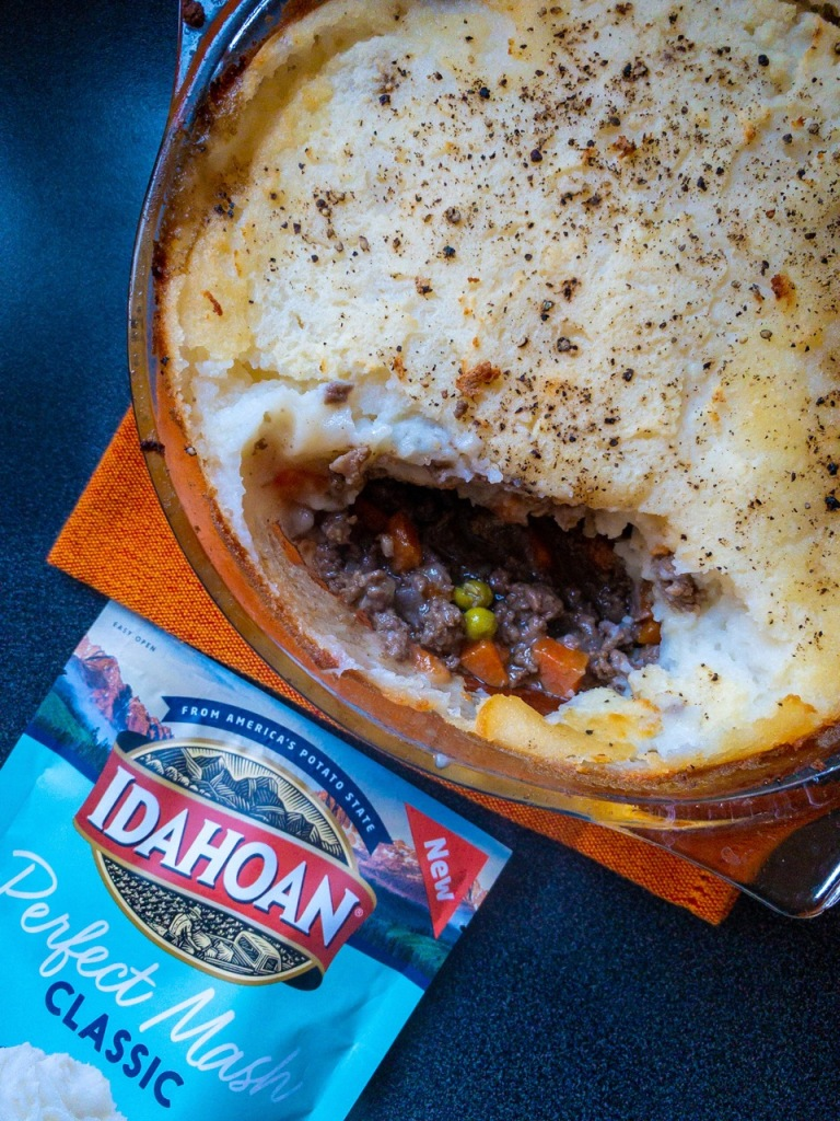 Cottage Pie with Idahoan Perfect Mash