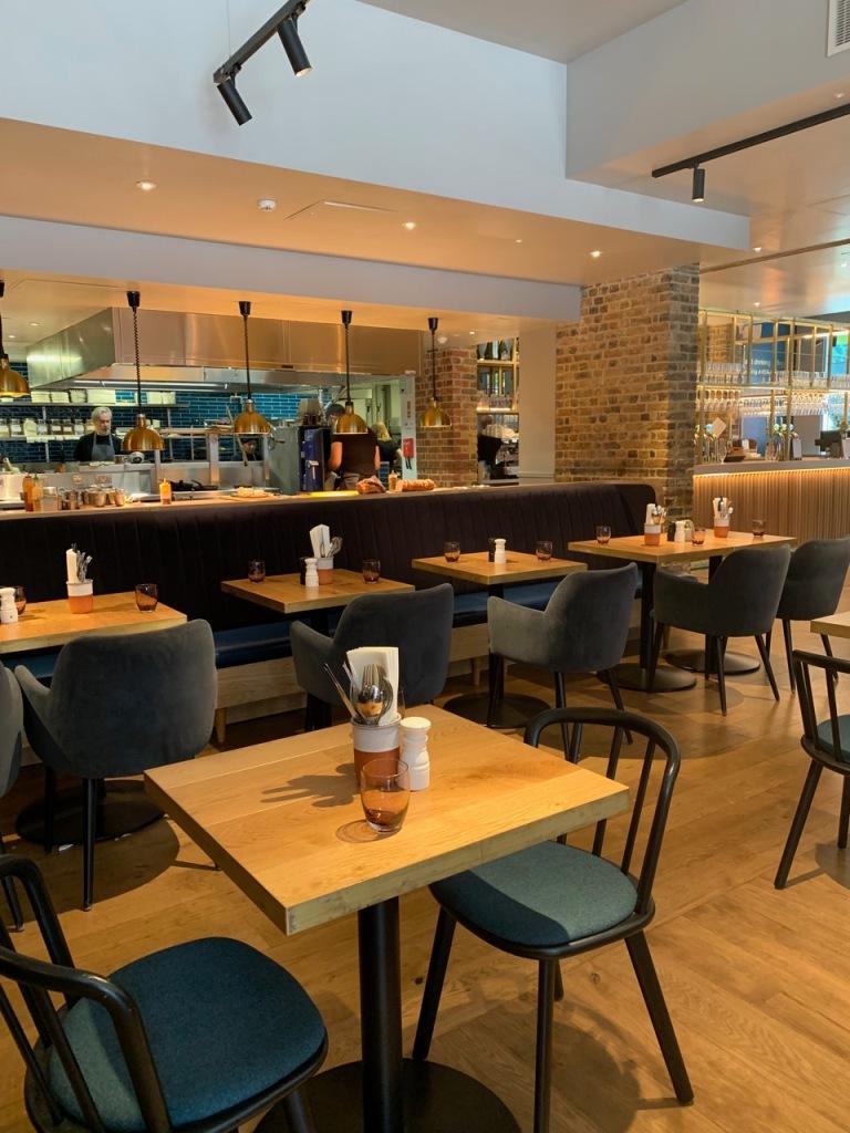 interior photos of the social enterprise and restaurant