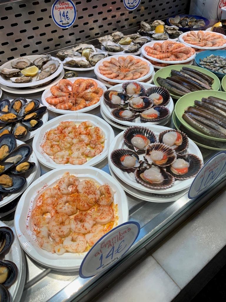 Madrids seafood