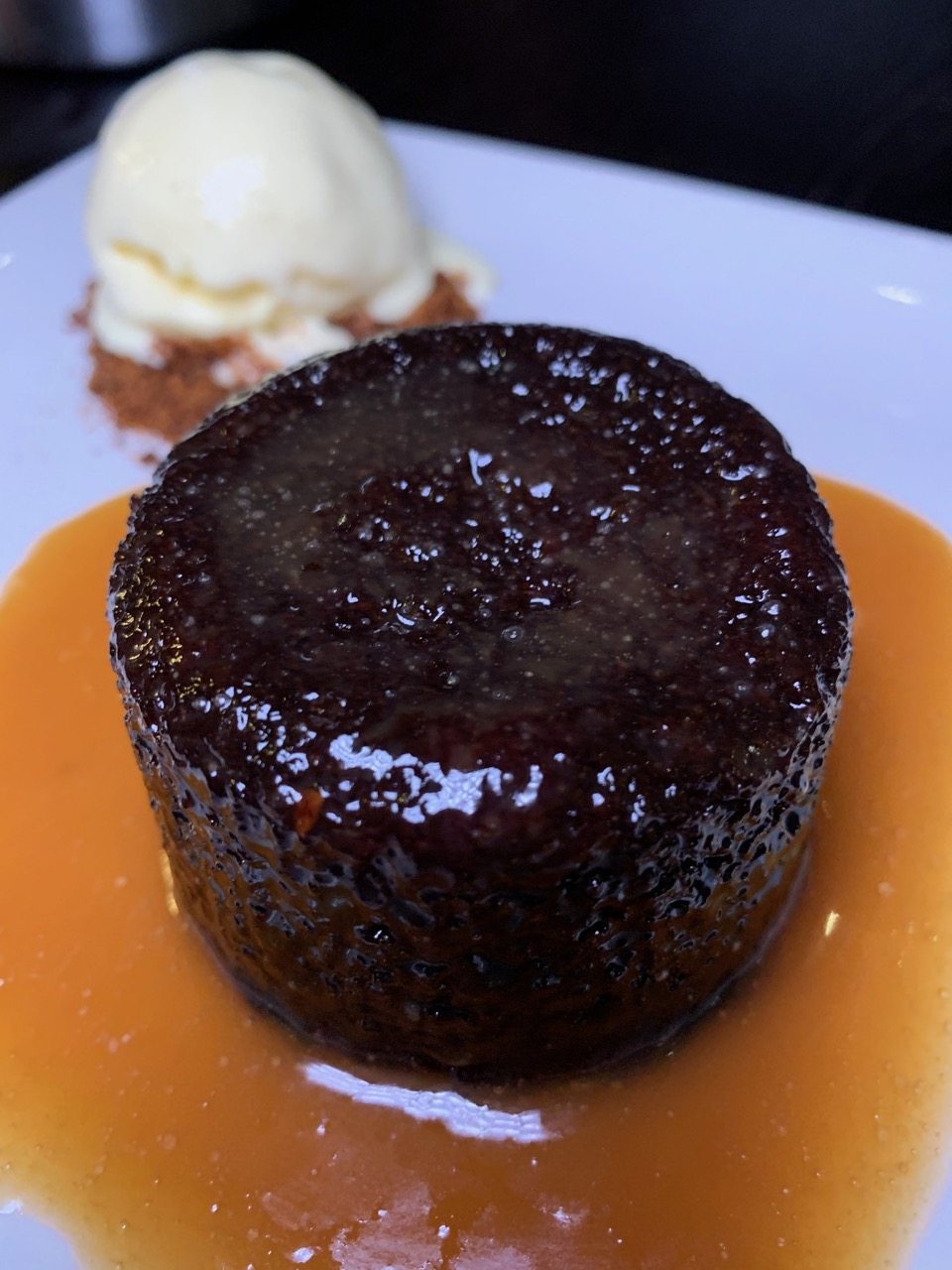 Sticky Toffee Pudding - P.F.Chang's Asian Table