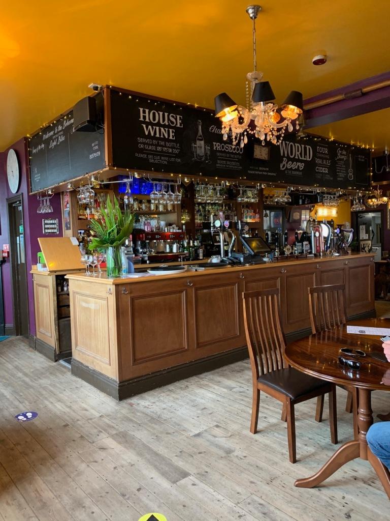 Interiors of Bohemian Pub
