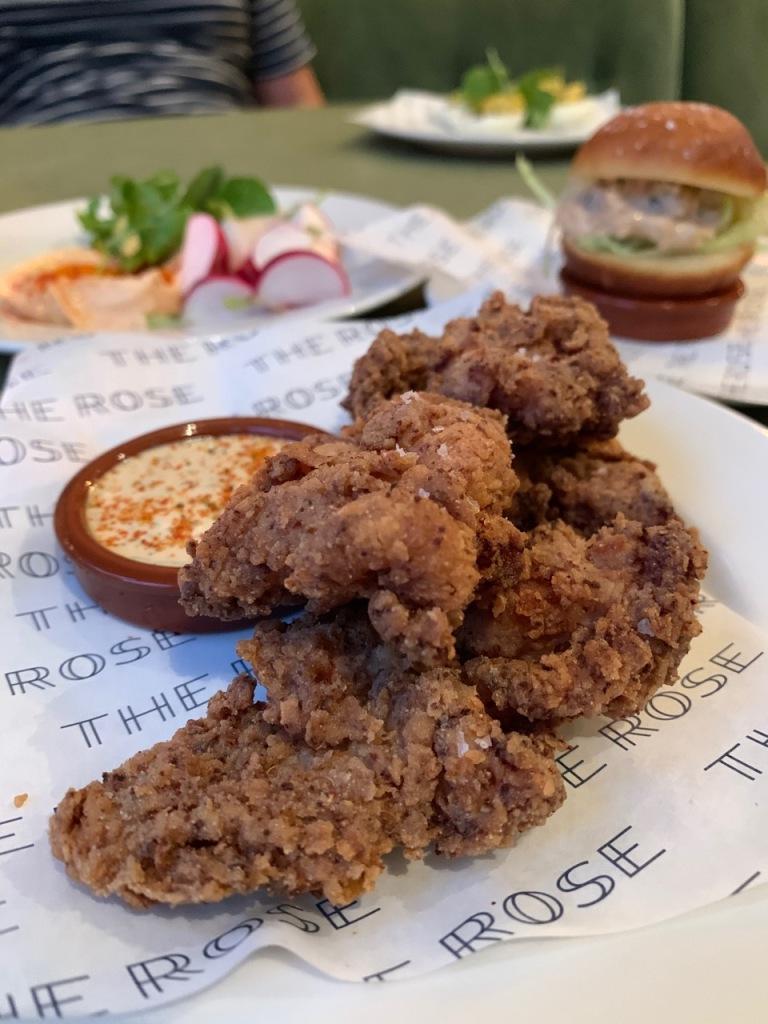 Fried Chicken, Dill Ranch dressing